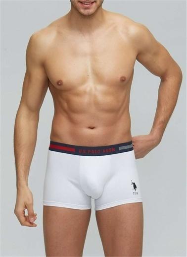 U.S. Polo Assn. U.S. Polo Assn. Erkek Çok Renkli 3 Lü Boxer Lacivert
